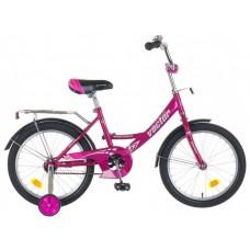 """Велосипед NOVATRACK 18"""", Vector, фиолетовый, тормо"""