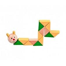 Логическая игрушка  Гусеница