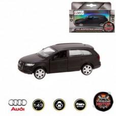 Машина мет. 1:43 Audi Q7, откр.двери,10см, черный