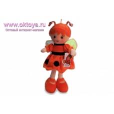 Кукла пчелка в красном платье муз -1цв.(84/6)