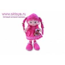 Кукла розовое платье муз -1цв.(96/6)