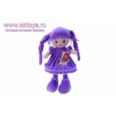 Кукла сиреневое платье муз -1цв.(96/6)