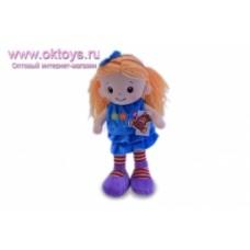 Кукла в голубом платье муз -1цв.(48/4)