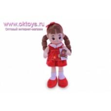 Кукла в красном платье муз -1цв.(84/6)
