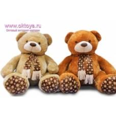 Медведь в шарфе муз -2цв.(12/1)