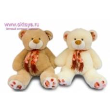 Медведь в шарфе  муз.-2цв.(42/1)