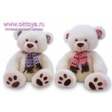 Медведь в шарфе -2цв.(30/1)