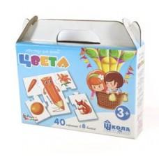 "Пазл-игра для детей ""Цвета"" 40 эл арт.02639"