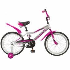 """Велосипед NOVATRACK 18"""", NOVARA, алюм., серебристы"""