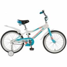 """Велосипед NOVATRACK 18"""", NOVARA, алюм., белый, тор"""