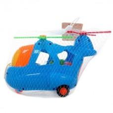 Каталка-сортер  на веревочке Вертолетик, сетка