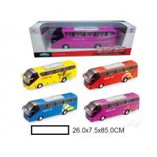 Автобус метал. инерционная, в ассорт., кор. 26x7,5x8,5 см