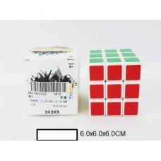 Головоломка кубик-логика, кор. 6х6х6 см