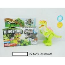 Динозавр на батар., свет, звук, кор. 27,5х10х20 см