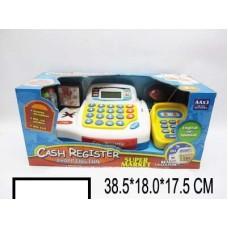 Кассовый аппарат детский на батар., кор. 38,5х18х17,5 см
