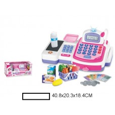 Кассовый аппарат детский на батар., кор. 40,8х20,3х18,4 см