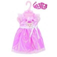 """Одежда для кукол 38-45см Платье """"Корона"""""""