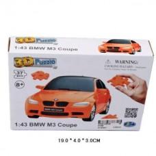 1:43 BMW M3 Coupe 3D Puzzle Non Assemble