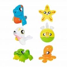 BW Надувная игрушка (крокодил, утка рыба, кит, морской лев, дельфин)