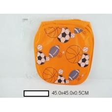 """Корзина для игрушек """"Спорт"""" 45х45 см, пакет"""