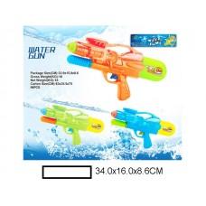 Водяной пистолет 34 см, пакет