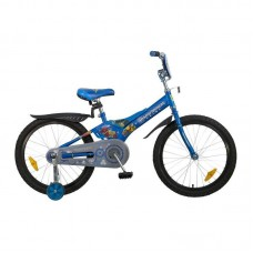 """Велосипед 20"""", Transformers, синий, полная защита, тормоз нож., крылья пласт., нет"""
