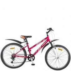 """Велосипед Foxx 24"""" Salsa 14"""", розовый, TZ-500/POWER/MS-12"""