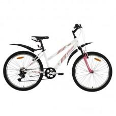 """Велосипед Foxx 24"""" Salsa 14"""", белый, TZ-500/POWER/MS-12"""