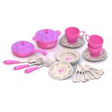 630 Набор кухонной посудки БАРБИ (25 предметов в коробке)