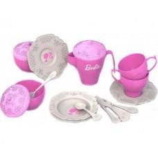 636 Набор чайной посудки БАРБИ (18 предметов в пакете)