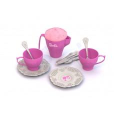 638 Набор чайной посудки БАРБИ (12 предметов в сетке)