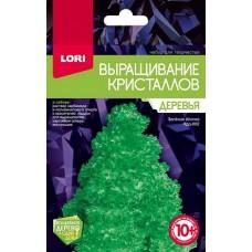 """Крд-002 Выращивание кристаллов.Деревья """"Зеленая ёлочка"""""""
