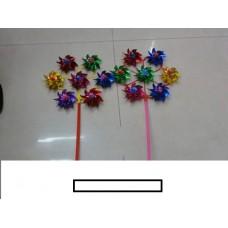 Ветряк детский 7 цветков, пакет