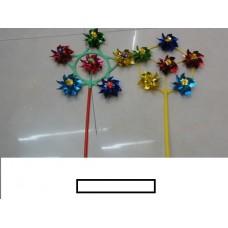 Ветряк детский 6 цветков малый, пакет