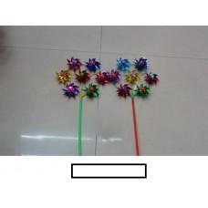 Ветряк детский 7 цветков малый, пакет