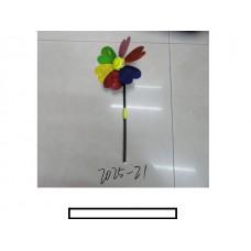 Ветряк детский 1 цветок «Смайлик», пакет