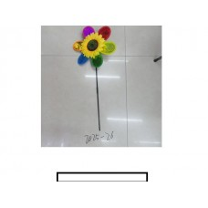 """Ветряк детский """"Подсолнух"""" 1 цветок, пакет"""