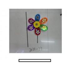 Ветряк детский 1 цветок с рисунком, пакет