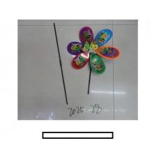 """Ветряк детский """"Пчелка"""" 1 цветок с рисунком, пакет"""