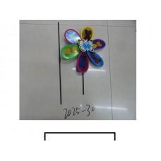 "Ветряк детский ""Бабочка"" 1 цветок с рисунком, пакет"