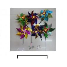 Ветряк детский 1 цветок «Радуга», пакет