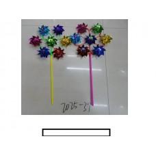 Ветряк детский 7 цветков «Солнце», пакет