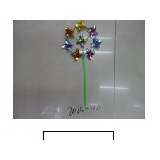 Ветряк детский 8 цветков, пакет