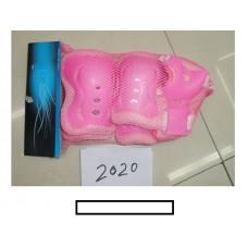 Комплект детской защиты 020 (наколенники, налокотники) в сетке