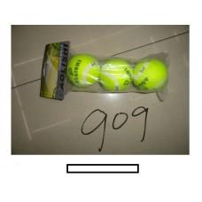 Мячи для больш.тенниса 3 шт., пакет