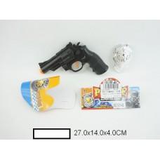 """Набор """"Полиция"""", пистолет + значек, пакет"""