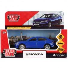 "Машина металл ""HONDA ACCORD"", длина 12см, открыв. двери, инерц, синий, в кор. Технопарк в кор.2*36шт"
