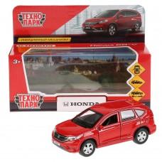 """Машина металл """"HONDA CR-V"""" 12см, открыв. двери, инерц., красный в кор. Технопарк в кор.2*36шт"""