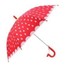 Зонт детский Клубничка, 48 см, полуавтомат