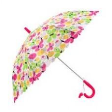 Зонт детский Летние бабочки, 48 см, полуавтомат